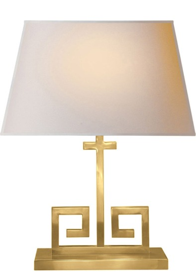 Alexa Hampton Greek Key Lamp