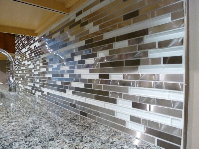 metal strip tile